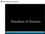 Heartbeat of America video presentation