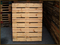 54 x 44 Slotted Glass Pallet